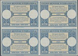 Argentinien - Ganzsachen: 1953. International Reply Coupon 1 Peso (London Type) In An Unused Block O - Ganzsachen