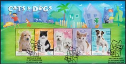 Australia 2004 Cats & Dogs Minisheet Used - Used Stamps