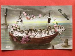 1921 - BABIES IN EEN BOOTJE - BEBES DANS UN BATEAU - Bébés