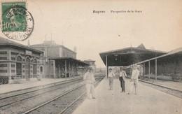 Bouches Du Rhone : ROGNAC : Perspective De La Gare ( Animation ) - France