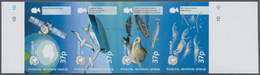 Britische Gebiete In Der Antarktis: 2002, 20 Years Agreement CCAMLR Complete Se-tenant Set Of Four I - Britisches Antarktis-Territorium  (BAT)