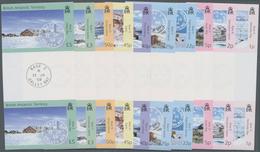 Britische Gebiete In Der Antarktis: 2003, Research Stations Defintive Issue Ten Different Stamps (1p - Britisches Antarktis-Territorium  (BAT)