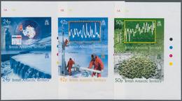 Britische Gebiete In Der Antarktis: 2004, Climatic Changes Complete Set Of Six In Three Se-tenant IM - Britisches Antarktis-Territorium  (BAT)