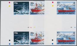 Britische Gebiete In Der Antarktis: 2005, Ships Complete Set Of Three (different Ships HMS 'Enduranc - Britisches Antarktis-Territorium  (BAT)