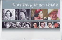 Britische Gebiete In Der Antarktis: 2006, 80th Birthday Of QEII IMPERFORATE Miniature Sheet, Mint Ne - Britisches Antarktis-Territorium  (BAT)