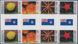 Britische Gebiete In Der Antarktis: 2007, Sea Animals (sea Star, Sea Spider, Antarctic Sea Anemone A - Britisches Antarktis-Territorium  (BAT)