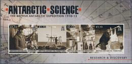 Britische Gebiete In Der Antarktis: 2011, Research And Discovery In The Antarctic Complete Set Of Tw - Britisches Antarktis-Territorium  (BAT)