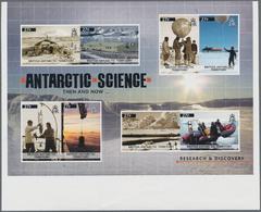 Britische Gebiete In Der Antarktis: 2011, Research And Discovery In The Antarctic Complete Set Of Ei - Britisches Antarktis-Territorium  (BAT)