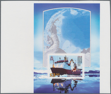 Britische Gebiete In Der Antarktis: 2012, Icebreaker And Research Ship 'Protector' IMPERFORATE Minia - Britisches Antarktis-Territorium  (BAT)