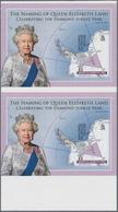 Britische Gebiete In Der Antarktis: 2013, 'The Naming Of Queen Elizabeth Land' (celebrating The Diam - Britisches Antarktis-Territorium  (BAT)
