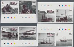 Britische Gebiete In Der Antarktis: 2012, 75 Years Expedition To Grahamland Complete Set Of Eight In - Britisches Antarktis-Territorium  (BAT)