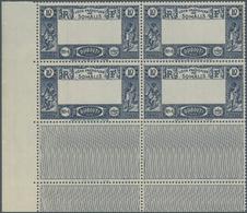 "Dschibuti: 1938, Definitives ""Views Of Djibouti"", 10fr. Showing Variety ""Missing Centre"", Marginal B - Dschibuti (1977-...)"