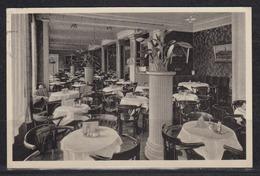 """Dt.Reich 1940 Fotokarte Schwerin I.M. """" Residenz-Cafe """" Am Markt Zweiggeschäft Der Konditorei E.Weist , Gelaufen - Schwerin"""