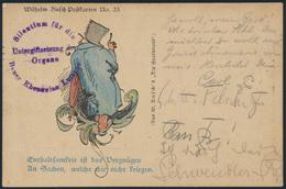 Ansichtskarte Litho Wilhelm Busch Postkarte Nr. 23 Leipzig N. Pirna 1911  - Illustrators & Photographers