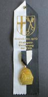 Medaille Rheingold Wanderung Der EVG 1970 Königstuhl Rhens-Rhein  - Ohne Zuordnung