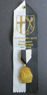 Medaille Rheingold Wanderung Der EVG 1970 Königstuhl Rhens-Rhein  - Germany