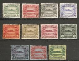 BRITISH SOLOMON ISLANDS 1908 - 1911 SET SG 8/17 LIGHTLY MOUNTED MINT Cat £200 - Salomonen (...-1978)