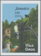 "Jamaica: 1995, Jamaica. IMPERFORATE Souvenir Sheet For The BIRD Series Showing ""Jamaican Pennant Hum - Jamaica (1962-...)"
