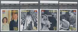 Kiribati (Gilbert-Inseln): 2007, Diamond Wedding Anniversary Of QEII And Prince Philip Complete IMPE - Kiribati (1979-...)