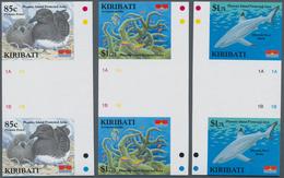 Kiribati (Gilbert-Inseln): 2008, Phoenix Island Protected Area Complete Set Of Six (Map, Phoenic Pet - Kiribati (1979-...)