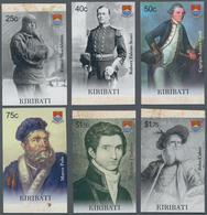 Kiribati (Gilbert-Inseln): 2009, Navigators And Explorers (Shackleton, Scott, Cook, Marco Polo, Flin - Kiribati (1979-...)