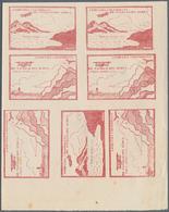 "Kolumbien: 1920, Ausgabe Der Fluggesellschaft, ""COMPANIA COLOMBIANA! ""Unicolor"" 10 . Carmine With Bl - Kolumbien"