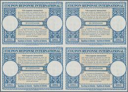 Kolumbien - Ganzsachen: 1954. International Reply Coupon 35 Centavos (London Type) In An Unused Bloc - Kolumbien