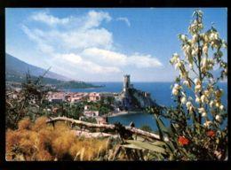 C1161 LAGO DI GARDA - MALCESINE - PANORAMA VG 1971 - Altre Città