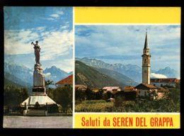 C1170 SALUTI DA SEREN DEL GRAPPA VG 1979 - Altre Città