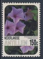 Nederlandse Antillen 1985 Mi 574 SG 903 ** Ipomoea Incarnata : Yerba Di Glas / Kruid Van Glas - Flowers / Blumen - Planten