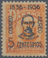 Panama: 1936, Auf 1/2 C. Orange, Nicht Ausgegebene Flugmarke, Tadellos Postfrisch, Auflage Nur 200 S - Panama