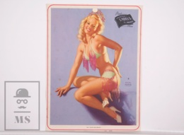 Pin-up Girl By Earl Moran, 'No Infringement' - Calendar Original Print - Printed By Haines - 17,5 X 23,5 Cm - Other
