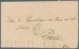Tahiti: 1871. Stampless Wrapper Written From Vairao, Tahiti Iti Dated '16th October 1871' Headed '(G - Tahiti