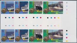 Tristan Da Cunha: 2013, 50th Anniversary Of Volcanic Eruption (ships Of The Volcano Period) Complete - Tristan Da Cunha