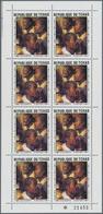 Tschad: 1977 Peter Paul Rubens 400th Birthday Two Sheets Per 8 Unused Never Hinged Original Gum - Tschad (1960-...)