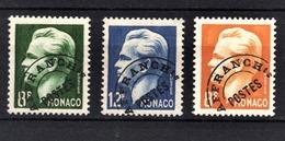 MONACO 1943 / 1951 - N° 8 / 9 / 10 -  NEUFS** - Monaco