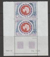 Taaf 1989 Treaty  1v (pair, Printing Date) ** Mnh (42878N) - Ongebruikt