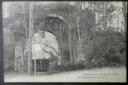 CPA 35 SAINT SULPICE LA FORET, Près RENNES - Ruines De L'Abbaye - Précurseur - Réf. D 166 - France