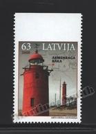 Lettonie – Latvia – Letonia 2008 Yvert 707a, Lighthouses – From Booklet – MNH - Latvia