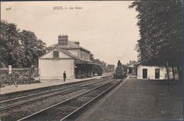 Jouy , La Gare , Animée - Jouy