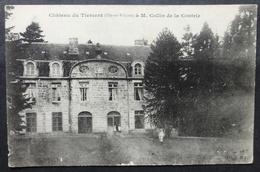 CPA 35 TIERCENT - Le Château, à M. Collin De La Contrie - Rare Cliché Hamonic - Voir état - Réf. Y 63 - France