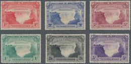 Britische Südafrika-Gesellschaft: 1905 'Victoria Falls' Complete Set Of Six, Various Perforations, M - Zuid-Afrika (...-1961)