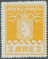 Dänemark - Grönländisches Handelskontor: 1915 2 øre Orange-yellow, Perf 11½, Mint Never Hinged, Fres - Groenland