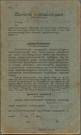 Dänemark - Grönländisches Handelskontor: 1938, Royal Greenland Trade Company. SAVING BOOKLET (type I - Groenland