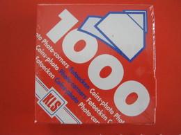 N. 1000 PZ. ANGOLINI ADESIVI X FOTO BUSTE CARTOLINE PHOTO CORNERS CINS FOTOECKEN CARD COVER PHILATELIC - Cartoline
