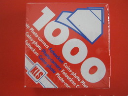 N. 1000 PZ. ANGOLINI ADESIVI X FOTO BUSTE CARTOLINE PHOTO CORNERS CINS FOTOECKEN CARD COVER PHILATELIC - A Identificar