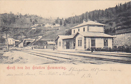 Gruss Von Der Station Semmering     (A-76-170708/1) - Semmering