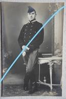 Photo ABL LANCIER Lansier ? Jagers Te Paard ? Chasseur à Cheval ? Cavalerie 1911  Armée Belge Leger Militaria - Krieg, Militär