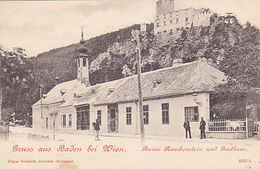 Gruss Aus Baden Bei Wien - Gasthaus    (A-76-170708/1) - Baden Bei Wien