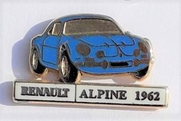 VT110 Pin's RENAULT ALPINE Qualité Arthus Signé Cep  Achat Immediat - Renault
